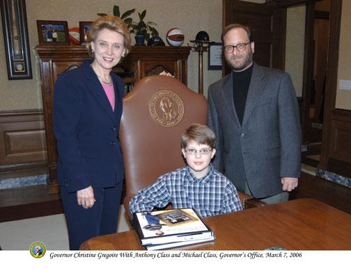 Anthony magic picture frame washington governor christine gregoire