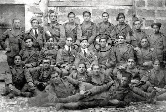 The 19th Reparti D�Assalto at their training base in northern Italy, 1917